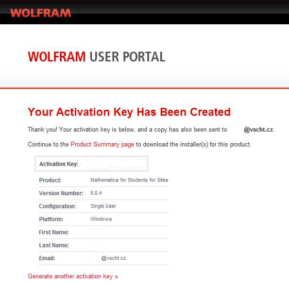 mathematica 8 activation key generator